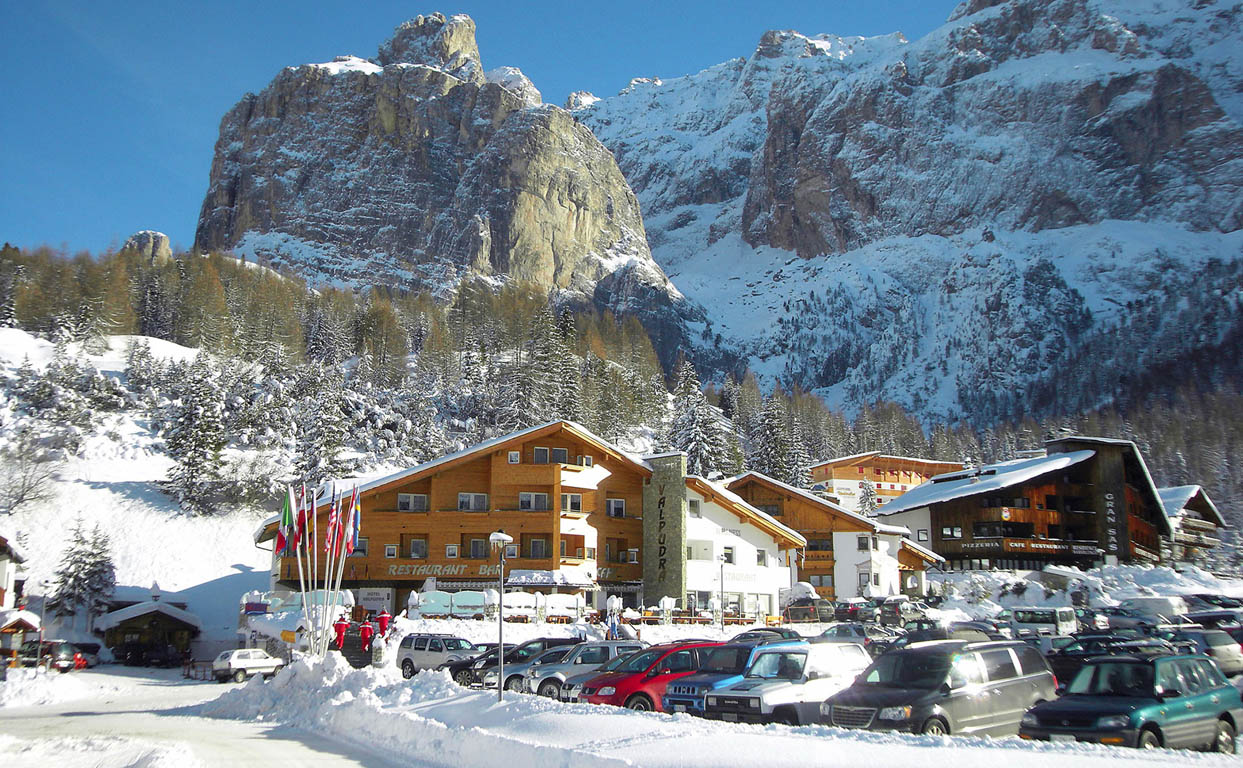 Hotel Valpudra im Winter